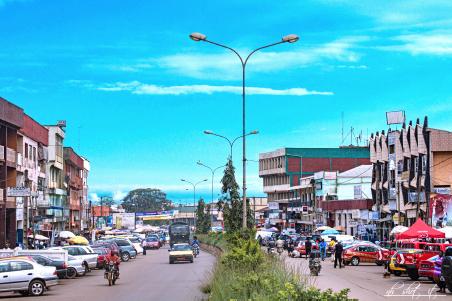 Bamenda city.