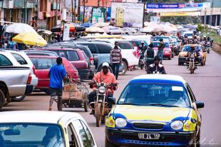 Some streets of Bamenda city.